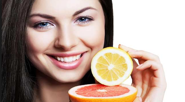 Diet for glowing skins