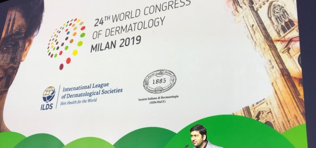 Dr Abhay at Milan