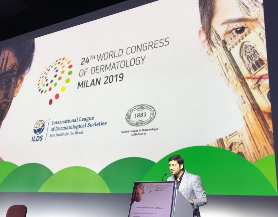 Dr Abhay at Milan
